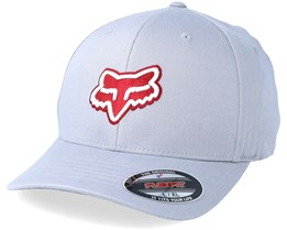 Transfer Heather Grey Red Flexfit - Fox cff2950734