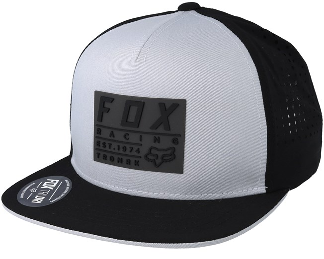 Redplate Tech Steel Grey Black Snapback - Fox - Start Kšiltovka -  Hatstore.cz a31dfe49a0