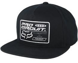 Pro Circuit Black Snapback - Fox