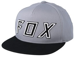 Kids Posessed Grey/Black Snapback - Fox