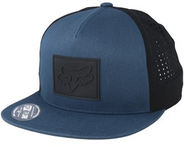 Redplate Navy/Black snapback - Fox
