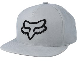 Instill Steel Grey/Black Snapback - Fox