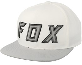 Posessed White/Grey Snapback - Fox