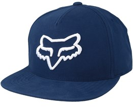 Instill Navy/White Snapback - Fox