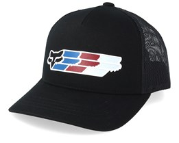 Kids Super Head Mesh Black Trucker - Fox