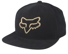 Instill Black/Yellow Snapback - Fox