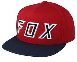 Kids Posessed Cardinal/Navy Snapback - Fox