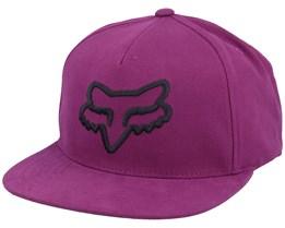 Instill Dark Purple Snapback - Fox