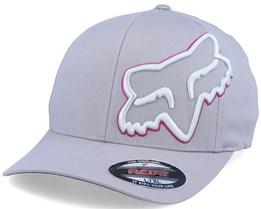 Episcope Hat Grey/Pink Flexfit - Fox