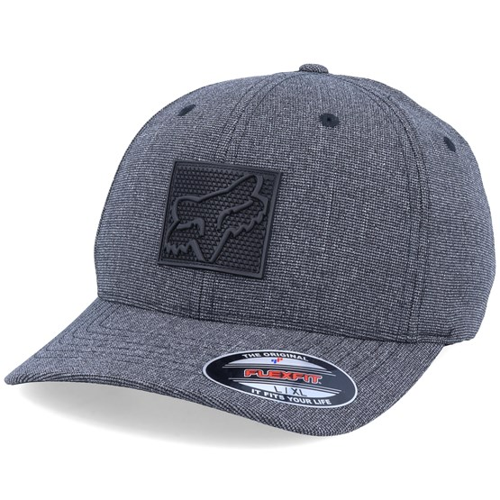 Keps Completely Hat Heather Black Flexfit - Fox - Svart