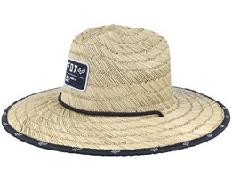 Non Stop Khaki Straw Hat - Fox