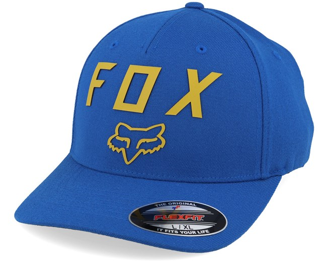 Number 2 Royal Blue/Yellow Flexfit - Fox