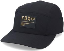 Non Stop Black/Yellow 5-Panel - Fox