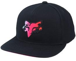 Kids Pyre Snapback Hat Black Snapback - Fox