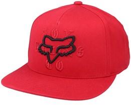 Top Coat Hat Chili Snapback - Fox