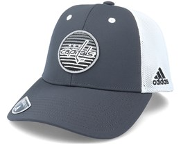 Washington Capitals Mesh Carbon/White Trucker - Adidas