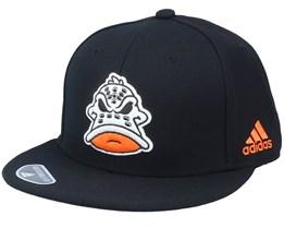Anaheim Ducks Mascot Flat Brim Black Snapback - Adidas