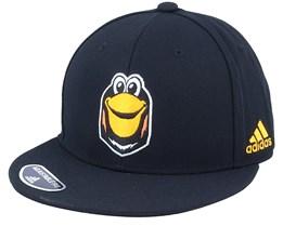 Pittsburgh Penguins Mascot Flat Brim Black Snapback - Adidas