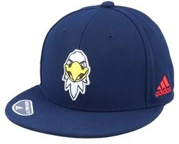 Washington Capitals Mascot Flat Brim Navy Snapback - Adidas