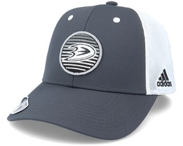 Anaheim Ducks Mesh Carbon/White Trucker - Adidas