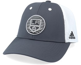Los Angeles Kings Mesh Carbon/White Trucker - Adidas