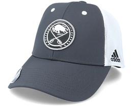 Buffalo Sabres Mesh Carbon/White Trucker - Adidas