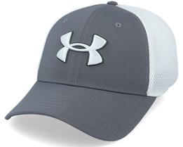 Classic Mesh Graphite/White/White Flexfit - Under Armour