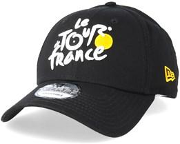 Monochrome 9Forty Tour De France Black Adjustable - New Era 209fb3826448