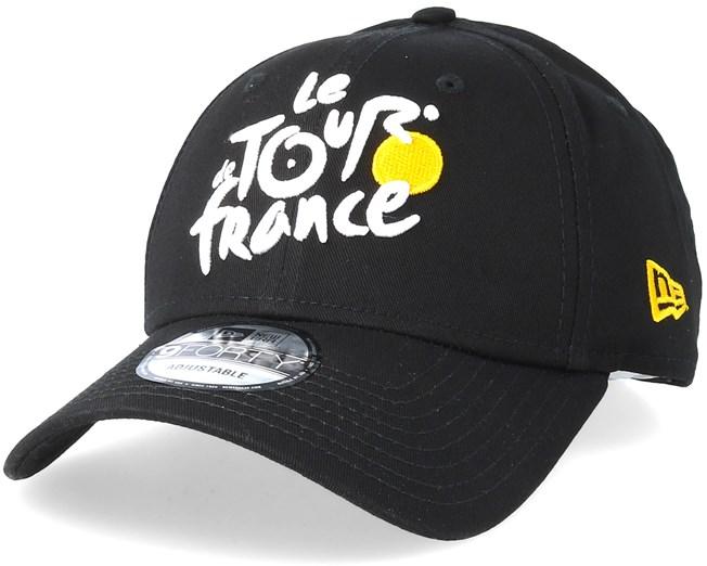 Monochrome 9Forty Tour De France Black Adjustable - New Era caps -  Hatstoreworld.com 39b25bf1b78d