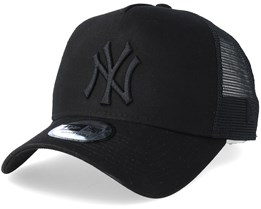New York Yankees Clean Black/Black Trucker - New Era