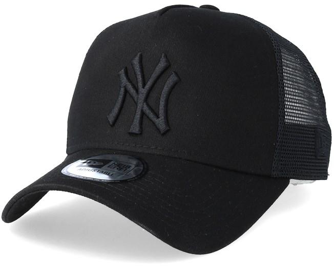 553c8b8983b New York Yankees Clean Black Black Trucker - New Era - Start Kšiltovka -  Hatstore.cz