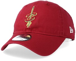 Cleveland Cavaliers Washed Essential 9Twenty Burgundy Adjustable - New Era
