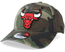 Chicago Bulls 9Forty Camo Adjustable - New Era