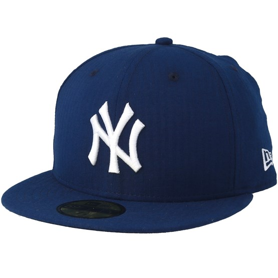 Keps New York Yankees SeerSucker 59Fifty Navy/White Fitted - New Era - Blå Fitted