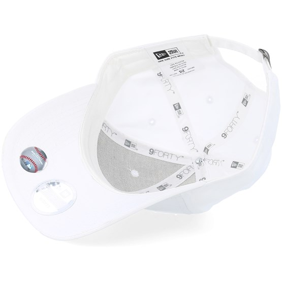 6b00ce39d02 Los Angeles Dodgers Satin 9Forty White Adjustable - New Era caps -  Hatstoreaustralia.com