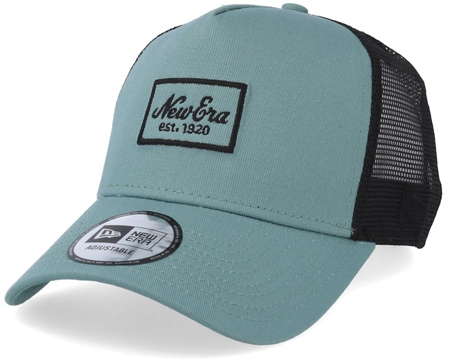 c5264ed4 Script Patch Mint Trucker - New Era caps - Hatstoreworld.com