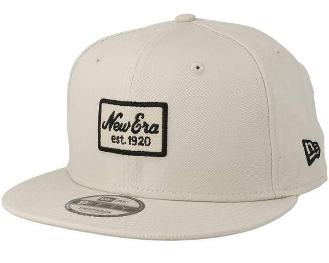 71e27039f7c Script Patch 9Fifty Stone Snapback - New Era caps