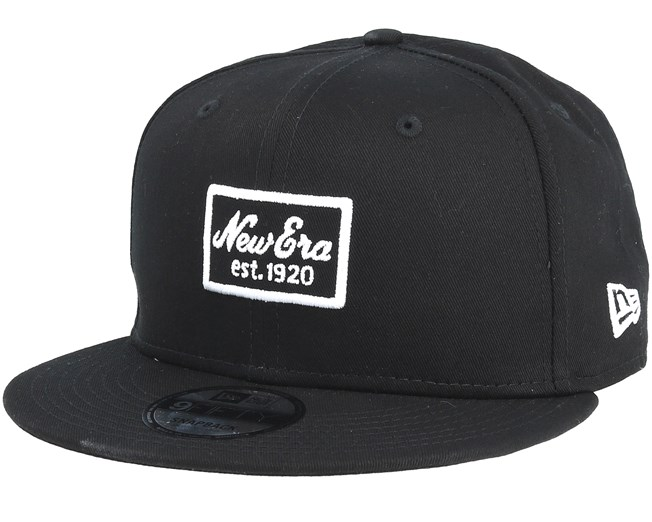 NEW ERA SCRIPT PATCH 9FIFTY SNAPBACK WHITE