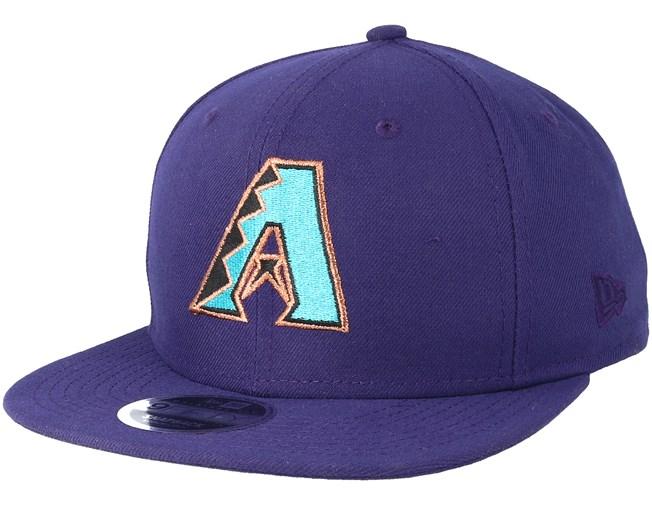 22b475f5734 Arizona Diamondbacks Coast 2 Coast 9Fifty Purple Snapback - New Era ...