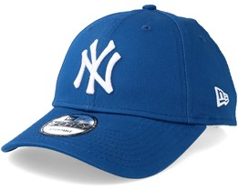 New York Yankees League Essential 9Forty Blue White Adjustable - New Era ec680648583