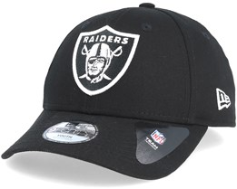 Kids Oakland Raiders Essential 9Forty Black Adjustable - New Era