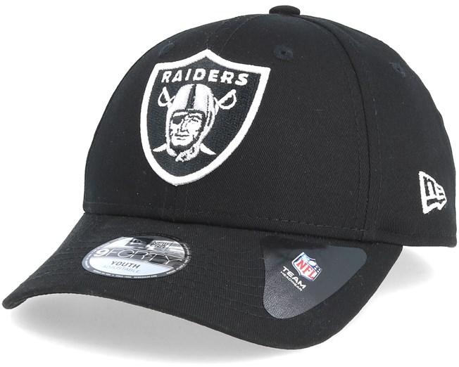 55fff441f7f Kids Oakland Raiders Essential 9Forty Black Adjustable - New Era caps -  Hatstoreworld.com