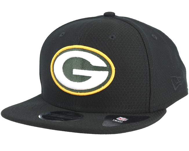 f518ea049f97d Green Bay Packers Dryera Tech 9Fifty Black Snapback - New Era caps -  Hatstoreworld.com