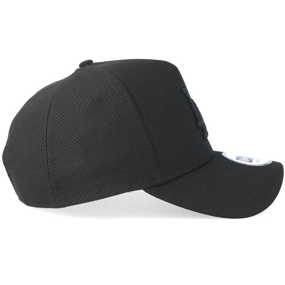 32e32c90cbf Los Angeles Dodgers Diamond A-Frame Black Black Adjustable - New Era caps -  Hatstoreworld.com