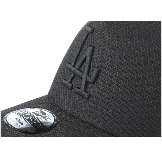 purchase cheap 70df0 62759 Kids Los Angeles Dodgers Diamond A-Frame Black Black Adjustable - New Era  cap - Hatstore.co.in