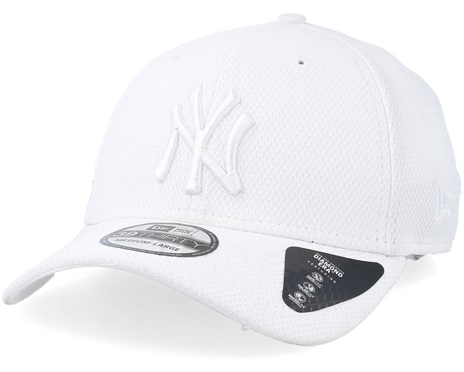 6d9315f0d New York Yankees Diamond 39Thirty White/White Flexfit - New Era caps ...