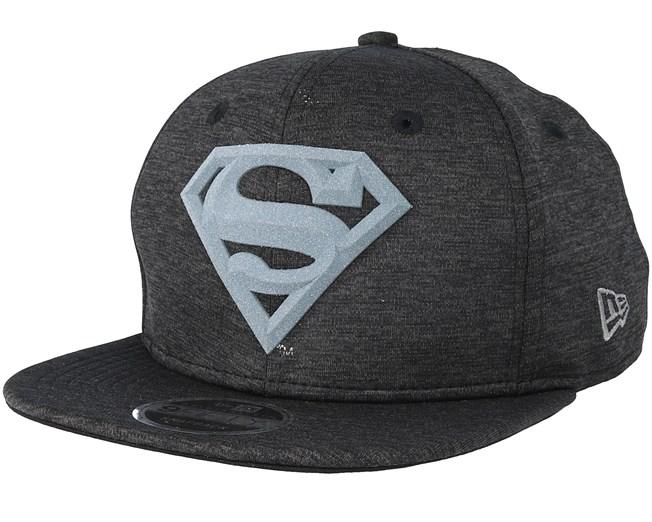 bdbf1d63fc964 Superman Concrete Jursey 9Fifty Black Grey Snapback - New Era caps -  Hatstoreaustralia.com