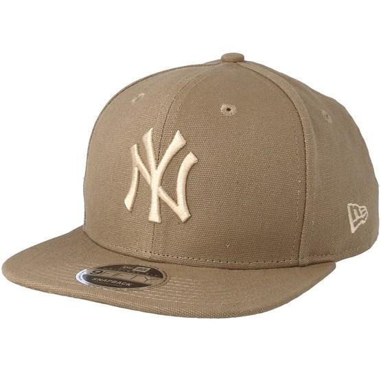 Keps New York Yankees Canvas 9Fifty Camel Snapback - New Era - Beige Snapback
