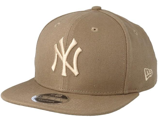 newest 7a5c2 9181b New York Yankees Canvas 9Fifty Camel Snapback - New Era caps -  Hatstoreaustralia.com