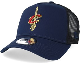 Cleveland Cavaliers Reverse Navy/Black Trucker - New Era